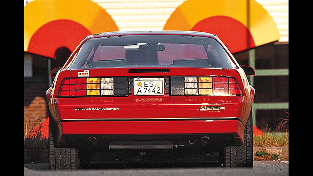 Chevrolet Camaro, Heckansicht