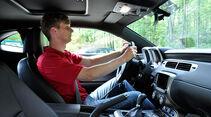 Chevrolet Camaro, Innenraum, Cockpit