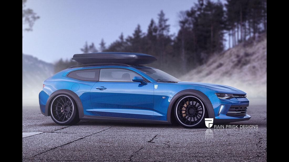 Chevrolet Camaro - Photoshop - Shooting Brake - Rain Prisk 2015