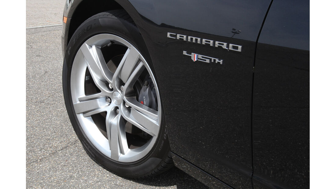 Chevrolet Camaro, Rad, Felge