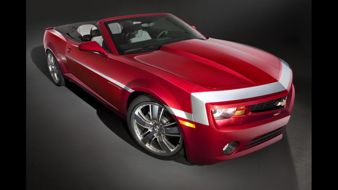 Chevrolet Camaro Red Concept