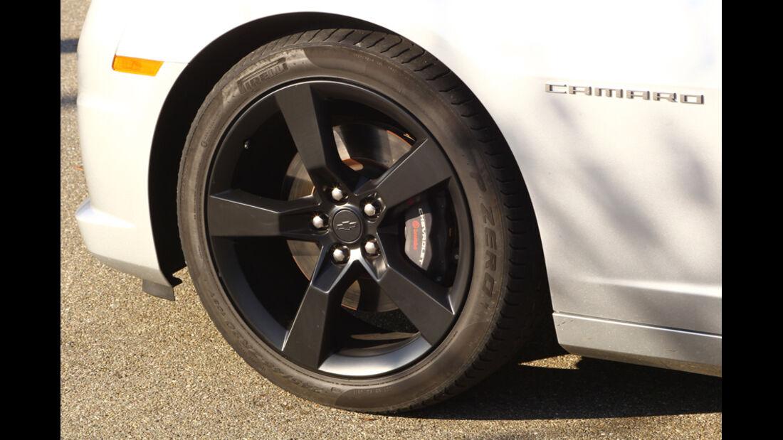 Chevrolet Camaro, Reifen, Felge