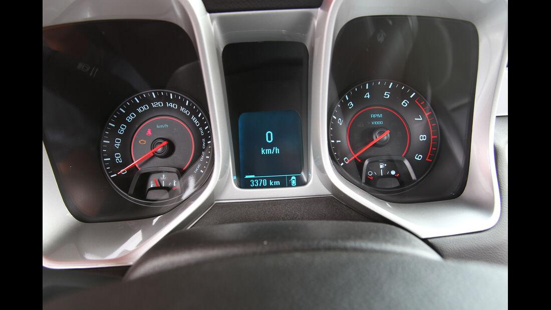 Chevrolet Camaro, Riundinstrumente