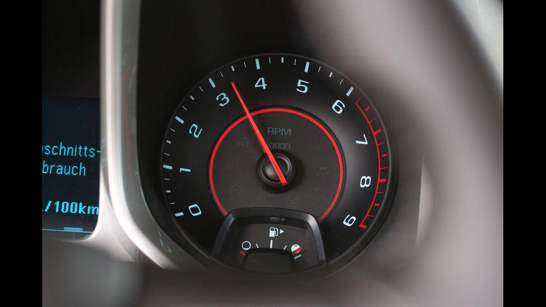 Chevrolet Camaro, Rundinstrumente