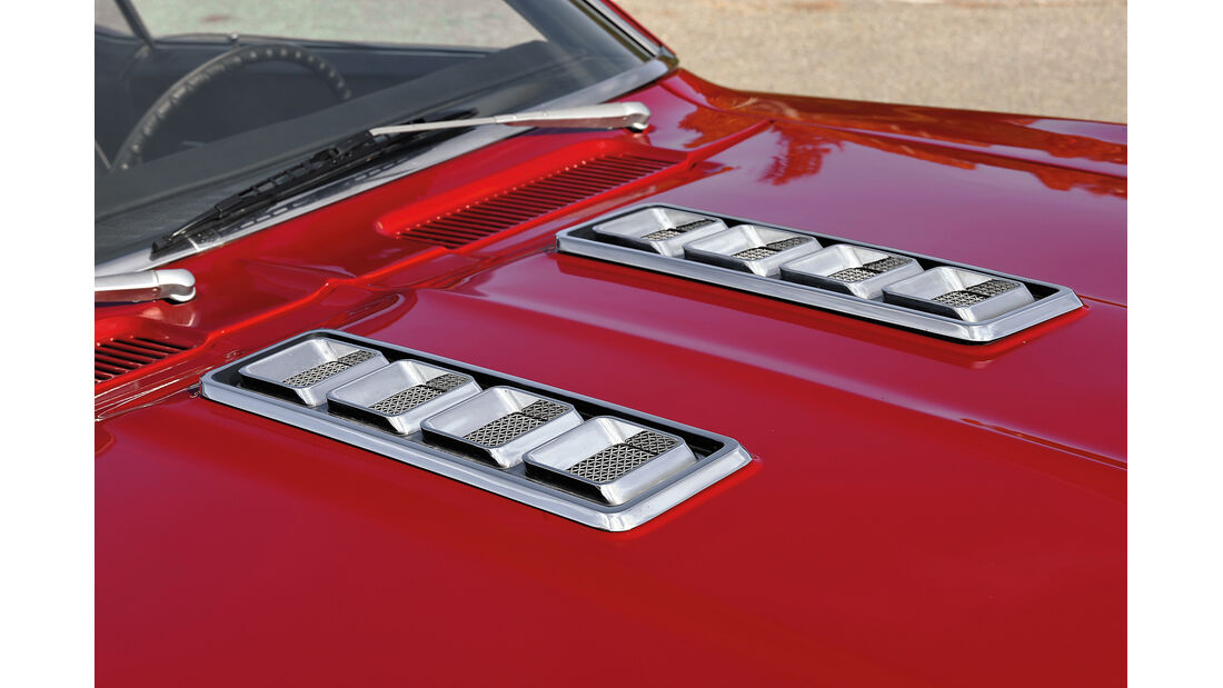 Chevrolet Camaro SS, Ansaugöffnungen
