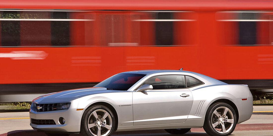 Chevrolet Camaro SS, Seitenansicht
