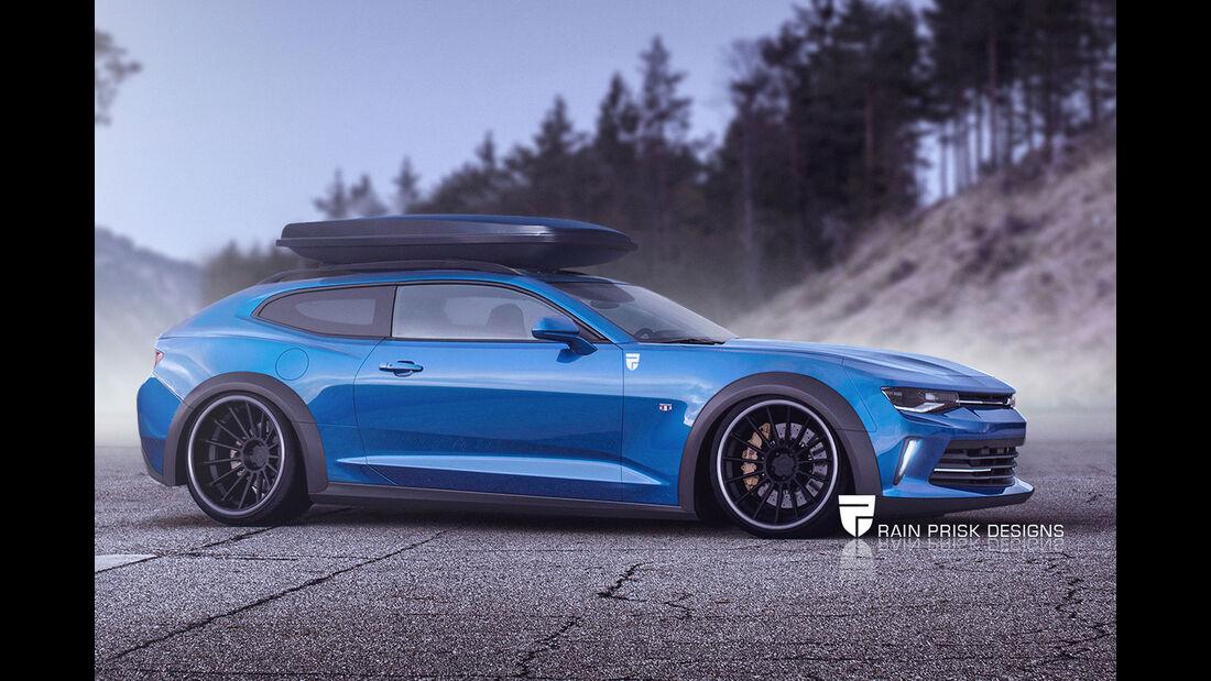Chevrolet Camaro Shooting Brake - Fantasie-Auto