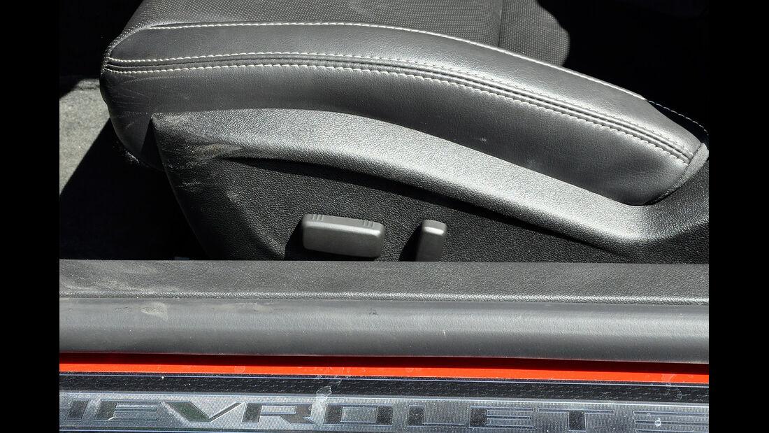 Chevrolet Camaro, Sitzverstellung