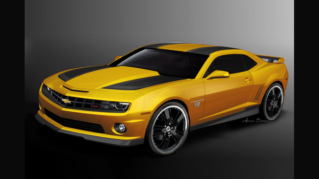 Chevrolet Camaro Transformers Showcar
