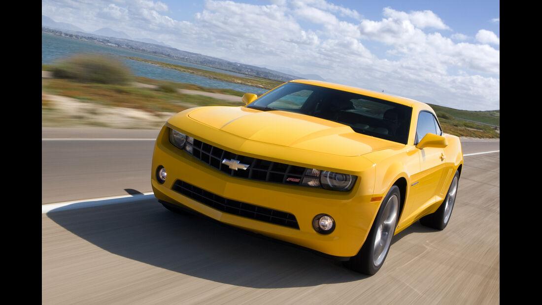 Chevrolet Camaro V8, Frontansicht
