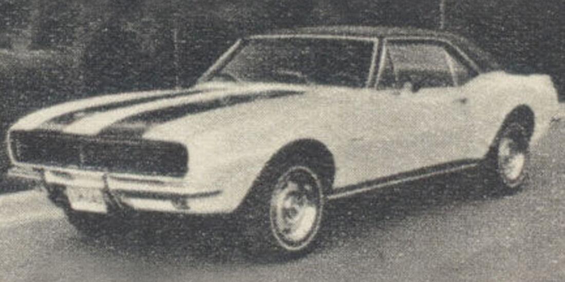 Chevrolet, Camaro, Z 28, IAA 1967