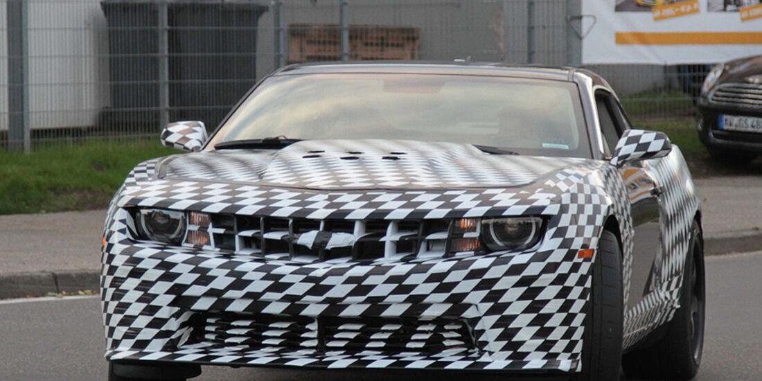 Chevrolet Camaro Z28 Erlkönig