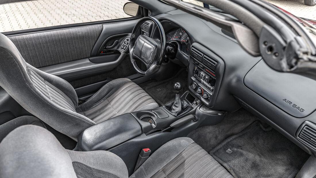 Chevrolet Camaro Z28, Interieur