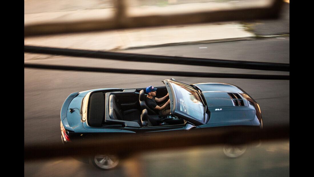 Chevrolet Camaro ZL1 Cabrio, Draufsicht