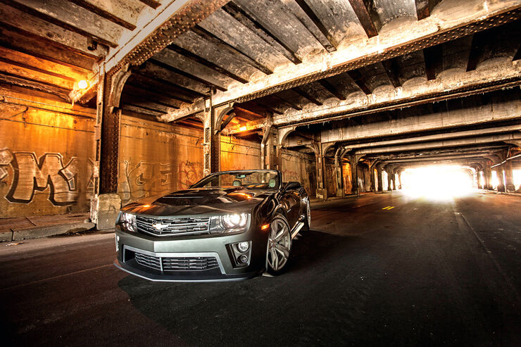 Chevrolet Camaro ZL1 Cabrio, Frontansicht
