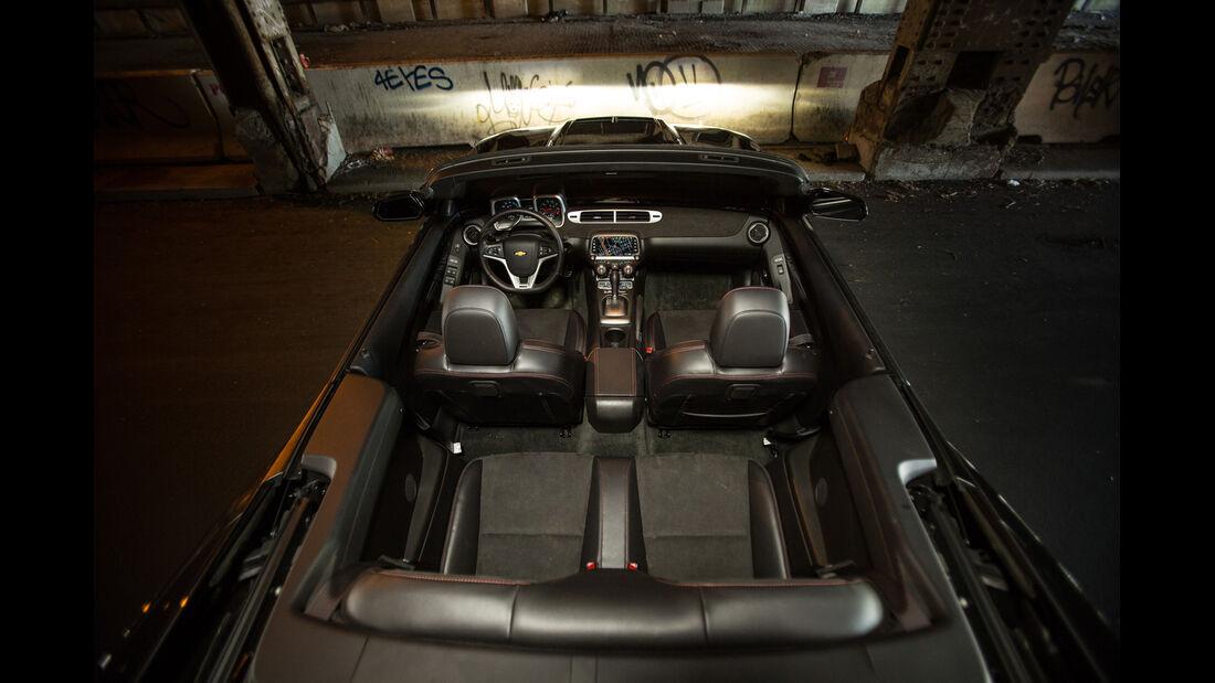 Chevrolet Camaro ZL1 Cabrio, Motor
