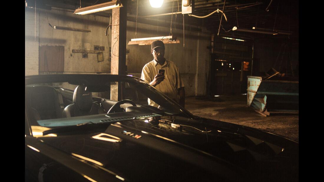 Chevrolet Camaro ZL1 Cabrio, Motorhaube