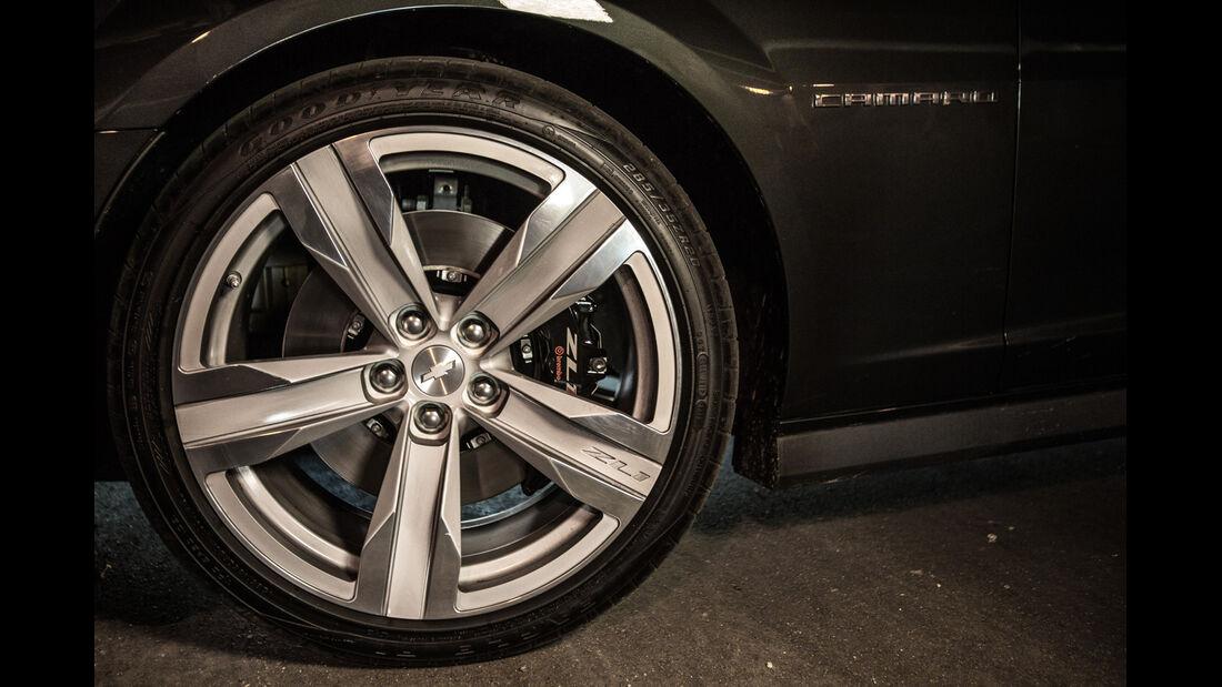 Chevrolet Camaro ZL1 Cabrio, Rad, Felge