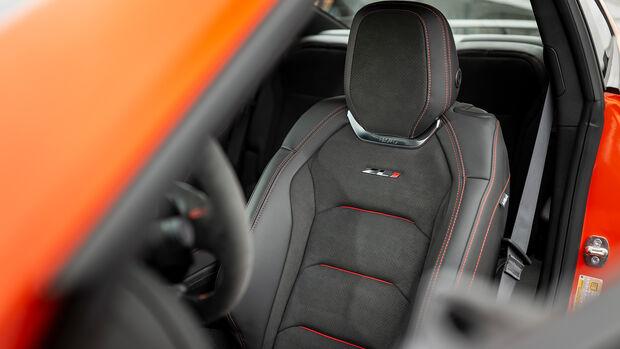 Chevrolet Camaro ZL1, Interieur