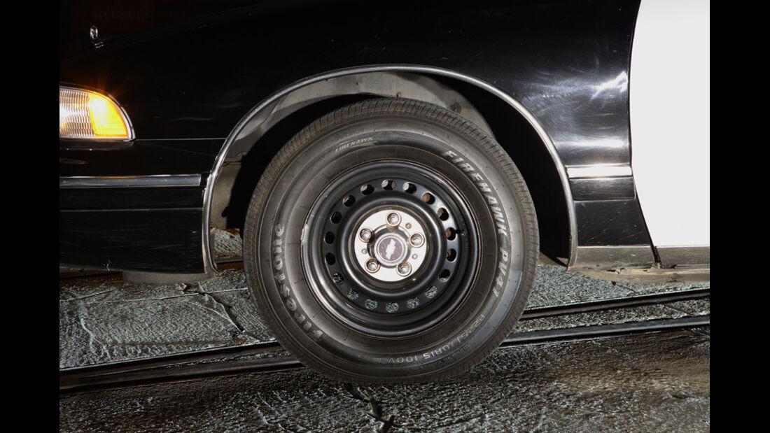 Chevrolet Caprice Police Cars, Felge