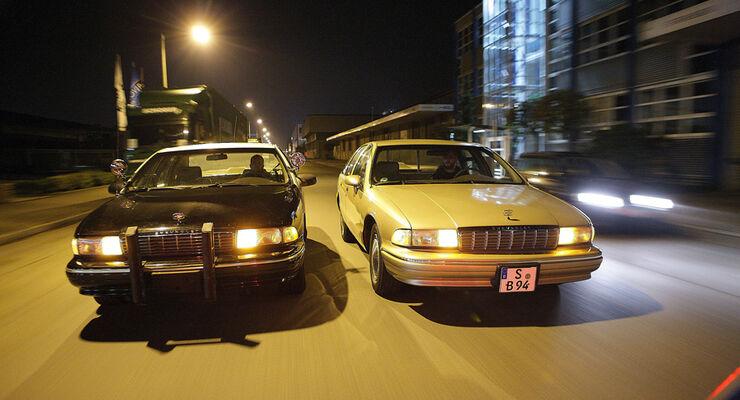 Chevrolet Caprice Police Cars