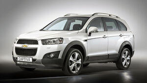 Chevrolet Captiva Facelift