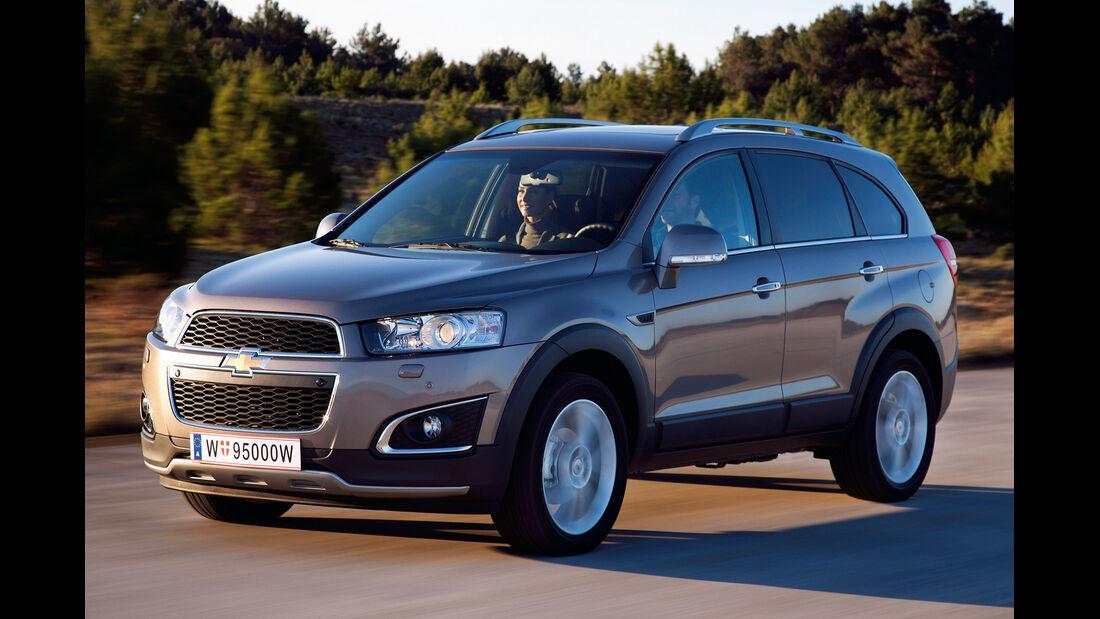Chevrolet Captiva, Frontansicht