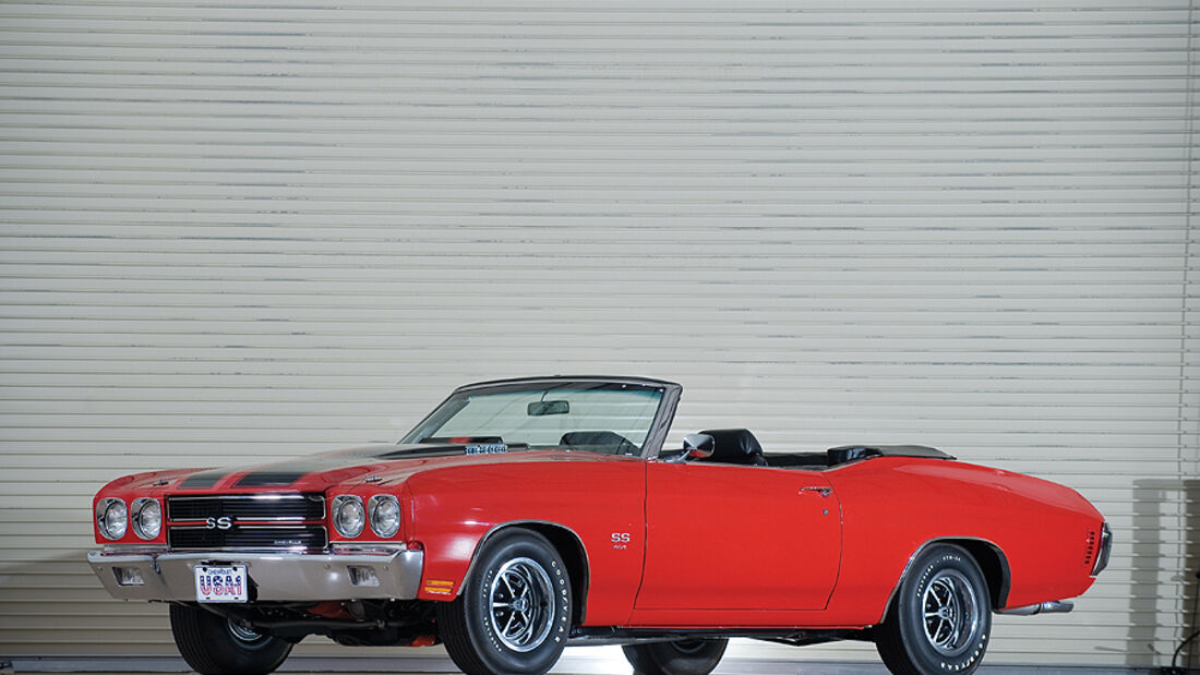 Chevrolet Chevelle SS LS6 Convertible (Frontansicht)