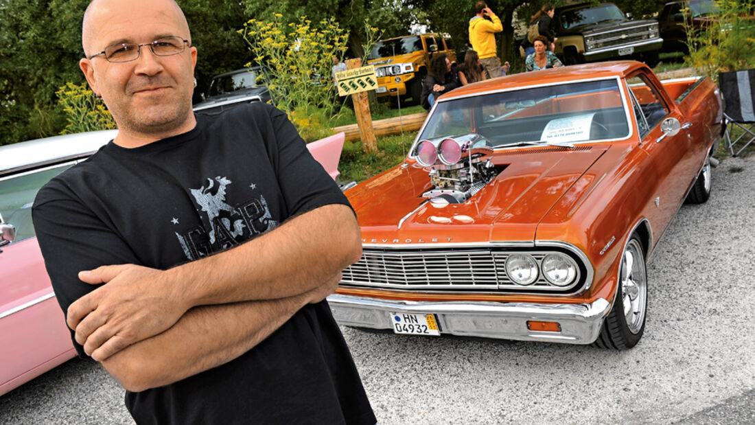 Chevrolet Cheville War, Frontansicht, Dieter Gehbauer