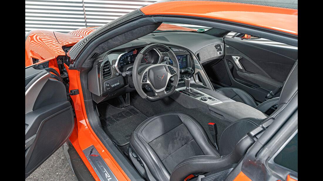 Chevrolet Corvett, Interieur