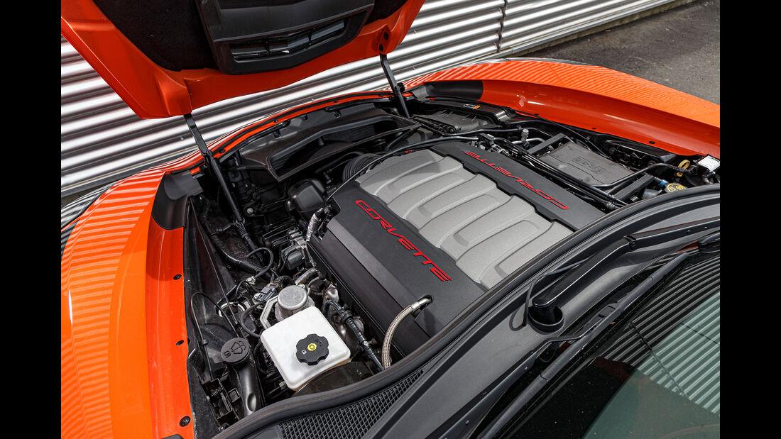 Chevrolet Corvett, Motor