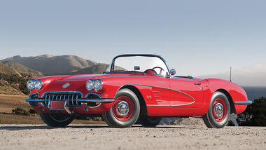 Chevrolet Corvette 283/290 Fuel-Injected Roadster (Frontansicht)