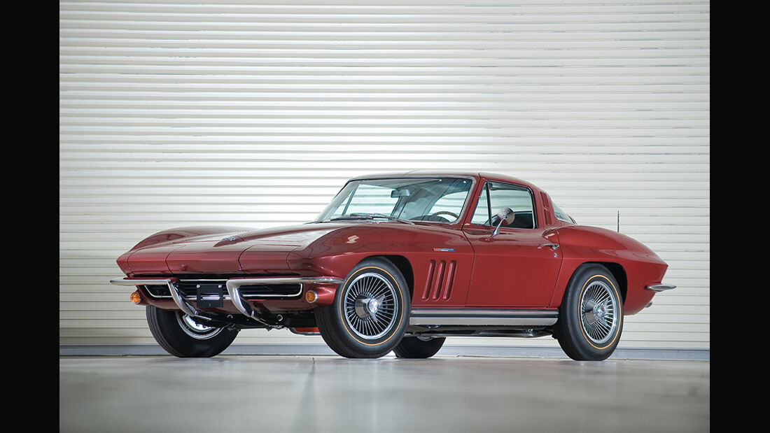 Chevrolet Corvette 327/375 Fuel-Injected Coupe (Frontansicht)