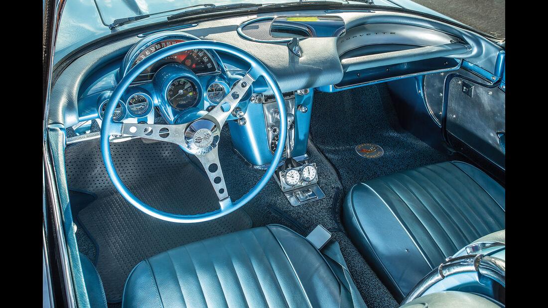 Chevrolet Corvette C1 (1960), Cockpit