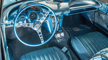 Chevrolet Corvette C1 (1960), Cockpit