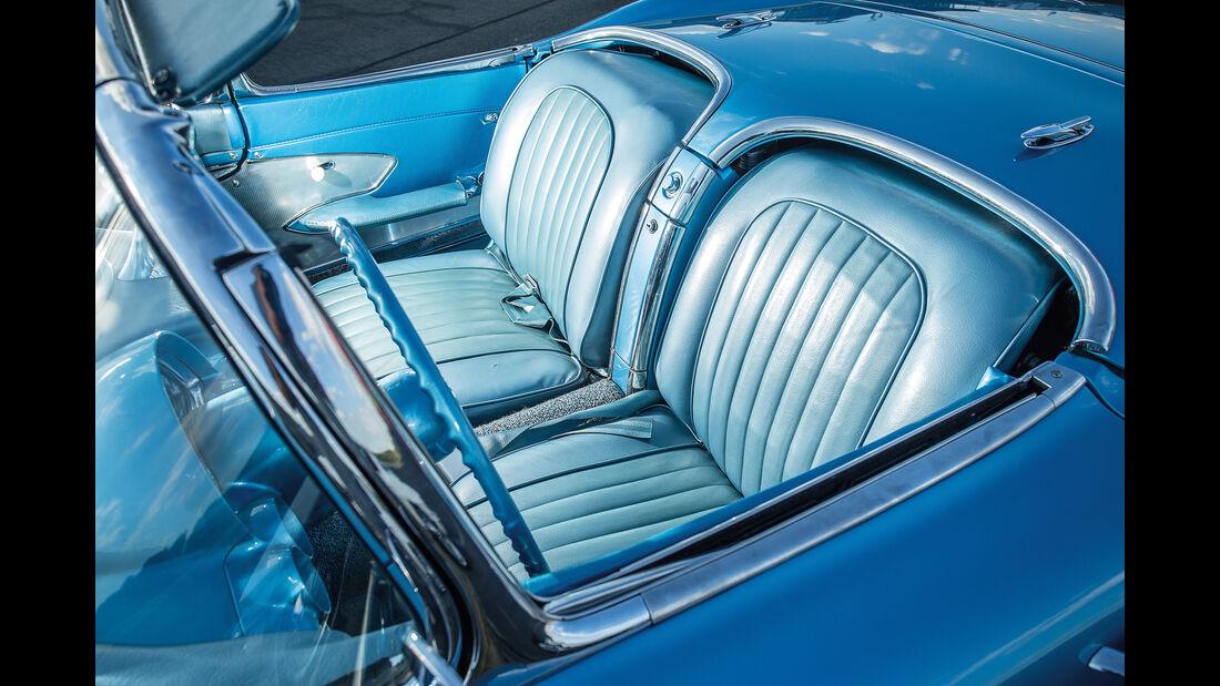 Chevrolet Corvette C1 (1960), Fahrersitz