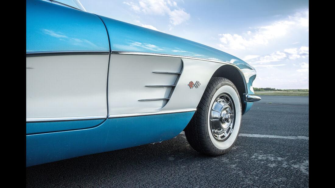 Chevrolet Corvette C1 (1960), Wagenflanke