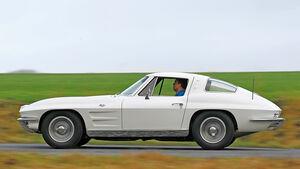 Chevrolet Corvette C2, Seitenansicht