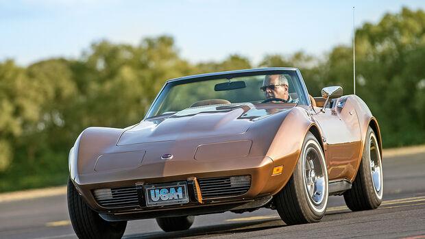 Chevrolet Corvette C3 (1975), Frontansicht