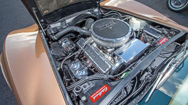 Chevrolet Corvette C3 (1975), Motor