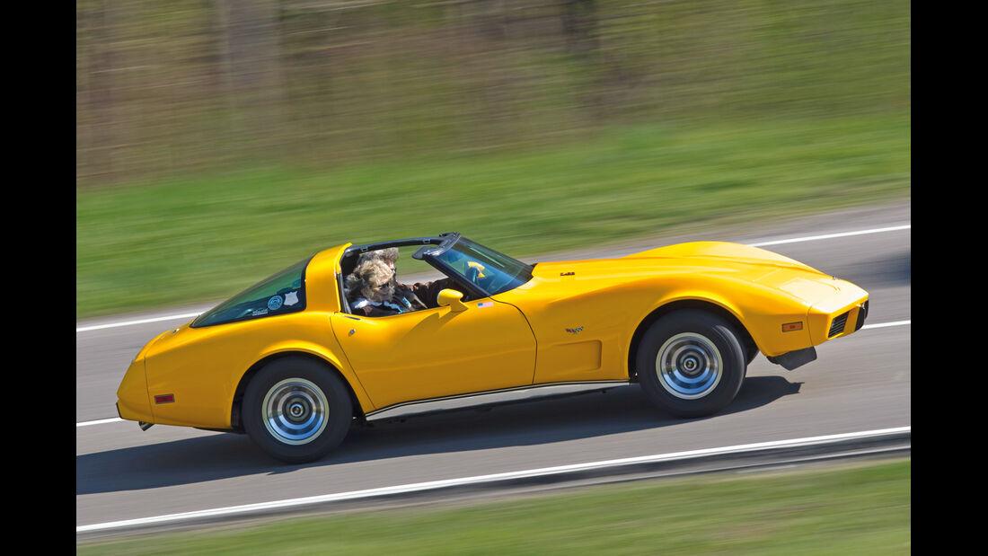 Chevrolet Corvette C3, Seitenansicht