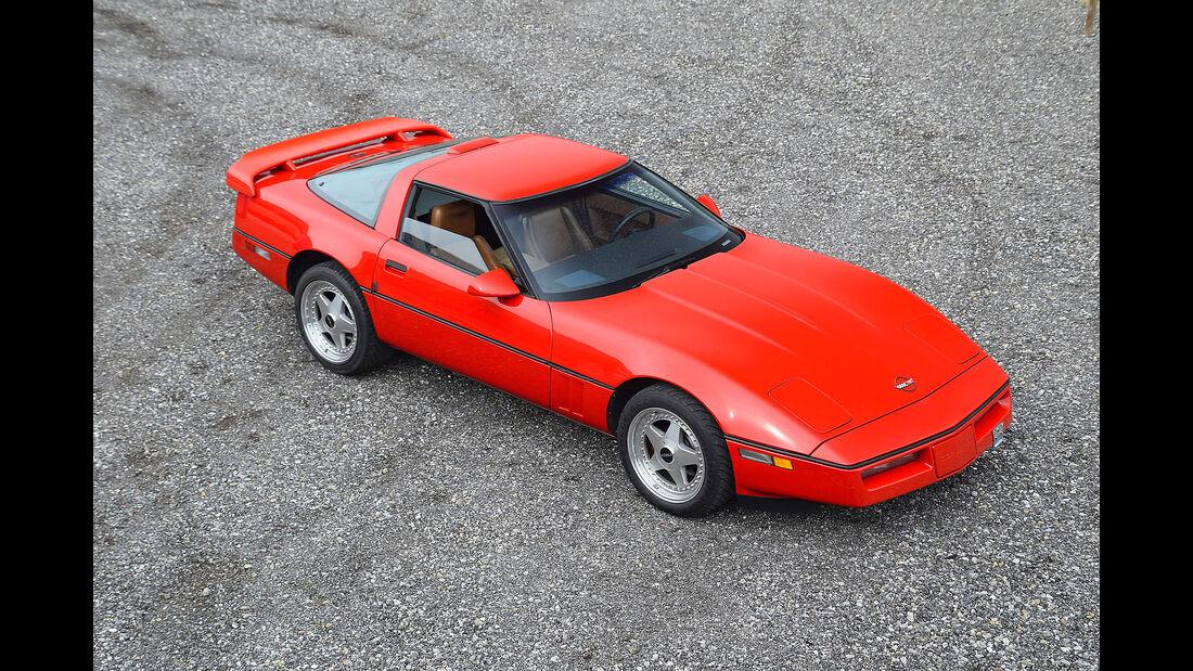 Chevrolet Corvette C4 1988 Oldtimer Auktion Toffen