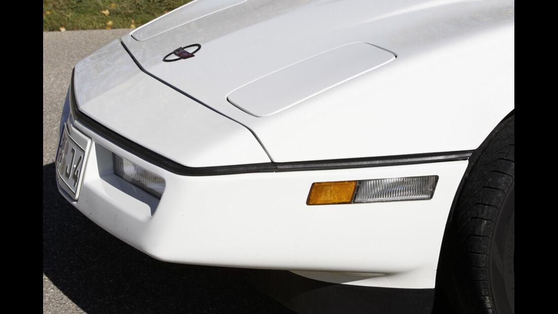 Chevrolet Corvette C4, Front, Detail
