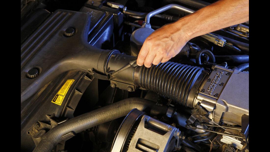 Chevrolet Corvette C4, Luftmengenmesser, Detail