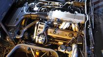 Chevrolet Corvette C4, Motorraum, Detail