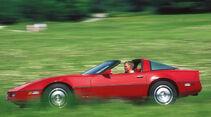 Chevrolet Corvette C4, Seitenansicht