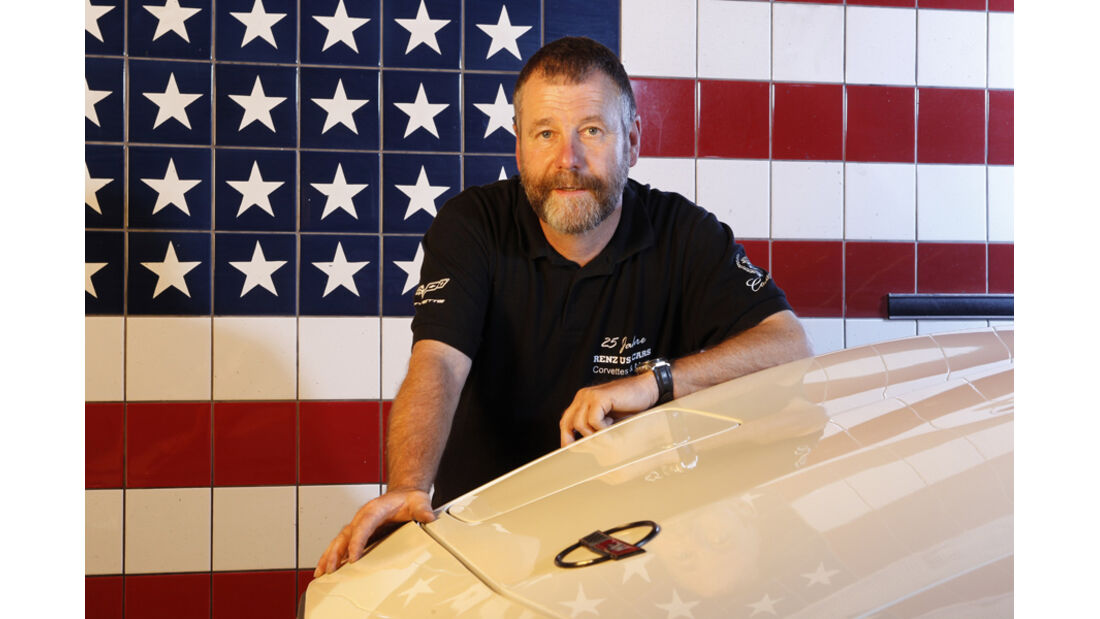 Chevrolet Corvette C4, Walter Renz, Frontansicht, Detail