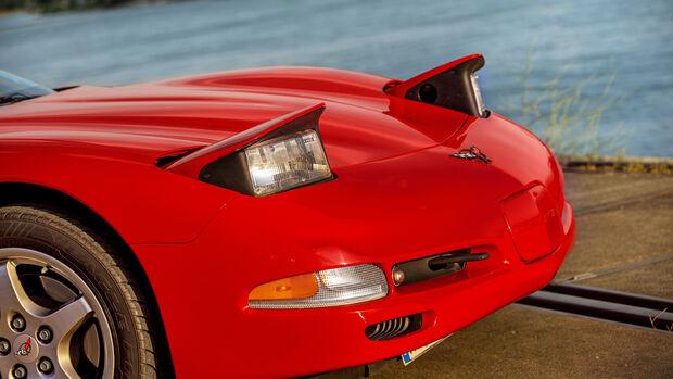 Chevrolet Corvette C5 Coupé, Exterieur
