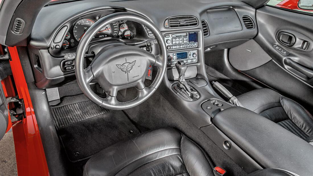Chevrolet Corvette C5 Coupé, Interieur