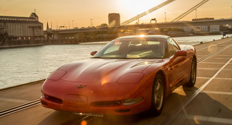 Chevrolet Corvette C5, Frontansicht